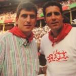 Junto a nuestro amigo Miguel Induráin