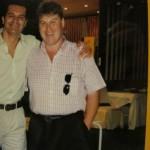 Con nuestro amigo Ramón García