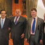 Con nuestro amigo D. Juan José Lucas