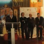 Junto a D. José María Aznar