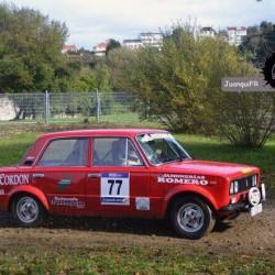 Coche rally Galicia – colaboraciones – Bodegas Heras Cordón
