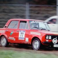 coche rally galicia - colaboraciones - bodegas heras cordon miniatura